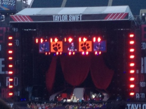 In July, before we departed for the beach, my friend Katie and I went to the Taylor Swift concert who had the best person ever to open for her: Ed Sheeran!
