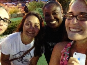 Something my friends like to do is mini-golf, which we did at the beach and took endless amounts of selfies and drove the guys in front of us crazy!