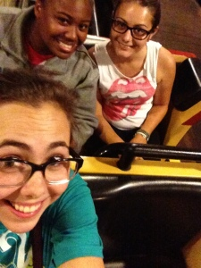 This was the last Hershey trip of the summer and I'm not exactly sure when it was, so the pictures may be slightly out of order, but who cares! Anywho this is on a rollercoaster that we went on at least twice, great memories were made this summer.