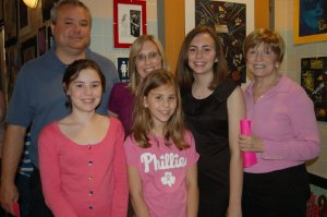 My grandmom would be that lady standing net to me in the pink. Sadly this is my most updated picture with her after my chorus concert in tenth grade. Not even a year later she lost her battle to cancer. To this day she is one of my biggest inspirations of strong women, and she has left a lasting impact on my life.