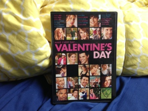 The first thing I picked up was this movie, Valentine's Day. I love it because it has oodles of my favorite people in it, however I cannot figure out how to get my computer to play it so that's a little disappointing to me.