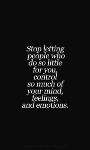 letting people