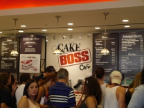 The Cake Boss Cafe, very obviously owned by TLC, it lived up to the hype decently in my opinion.
