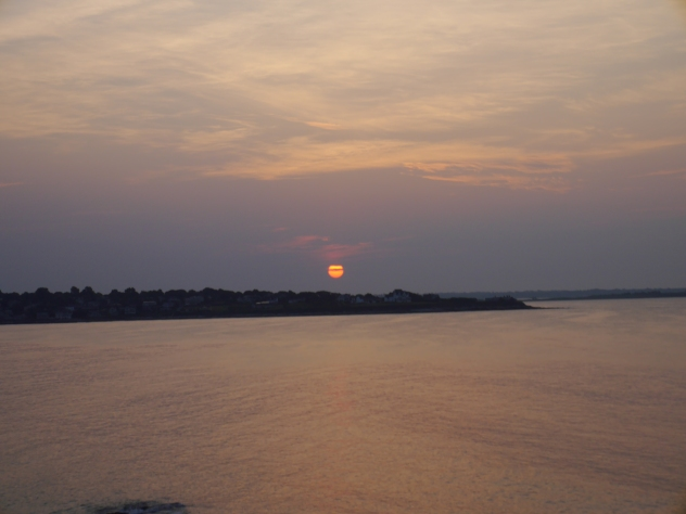 Sunrise again.