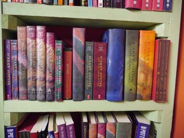 I got a little book shelf happy, not even sorry.