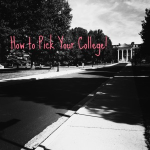 picking college