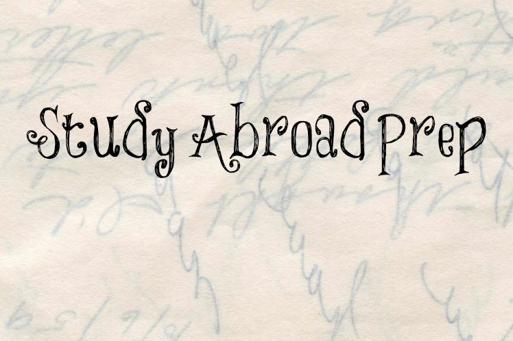 study abroad prep