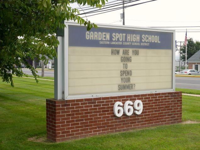 Garden Spot High School