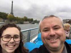 selfie with dad